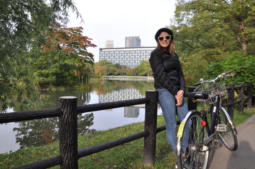 Reflecting at Nakajima Park