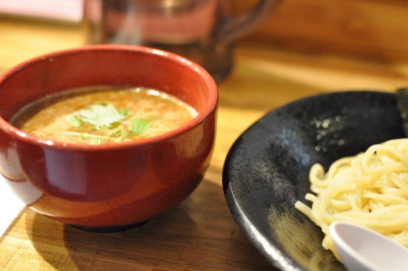 Spicy tsukemen