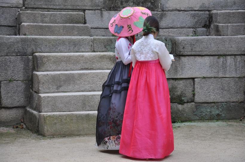 Pretty Korean hanbok