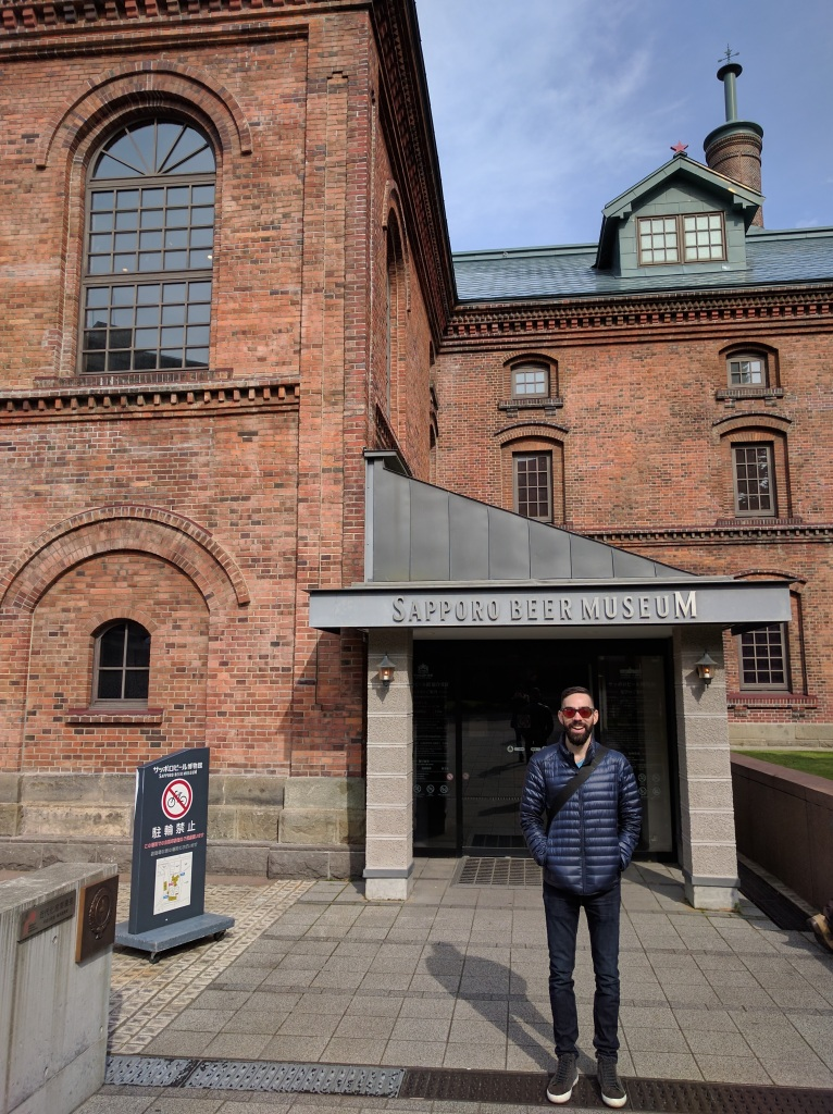At the Sapporo Beer Museum