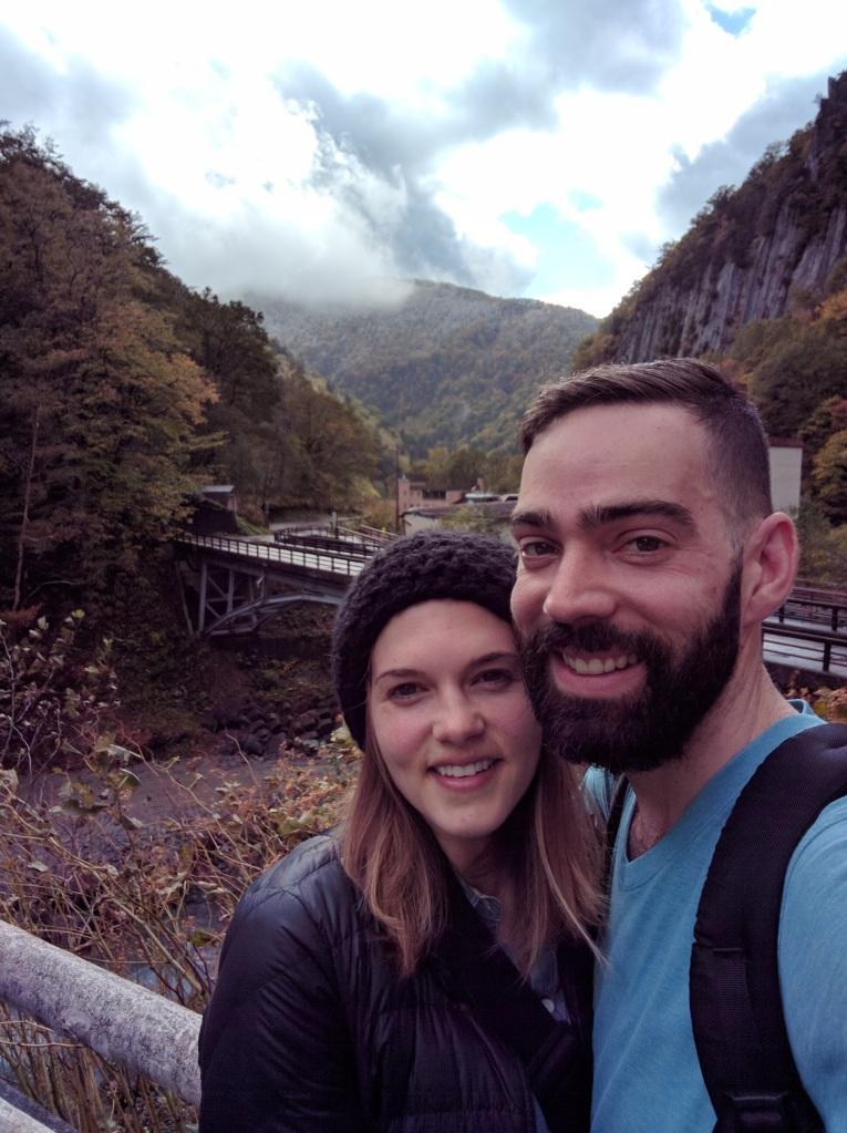 Post-onsen selfie