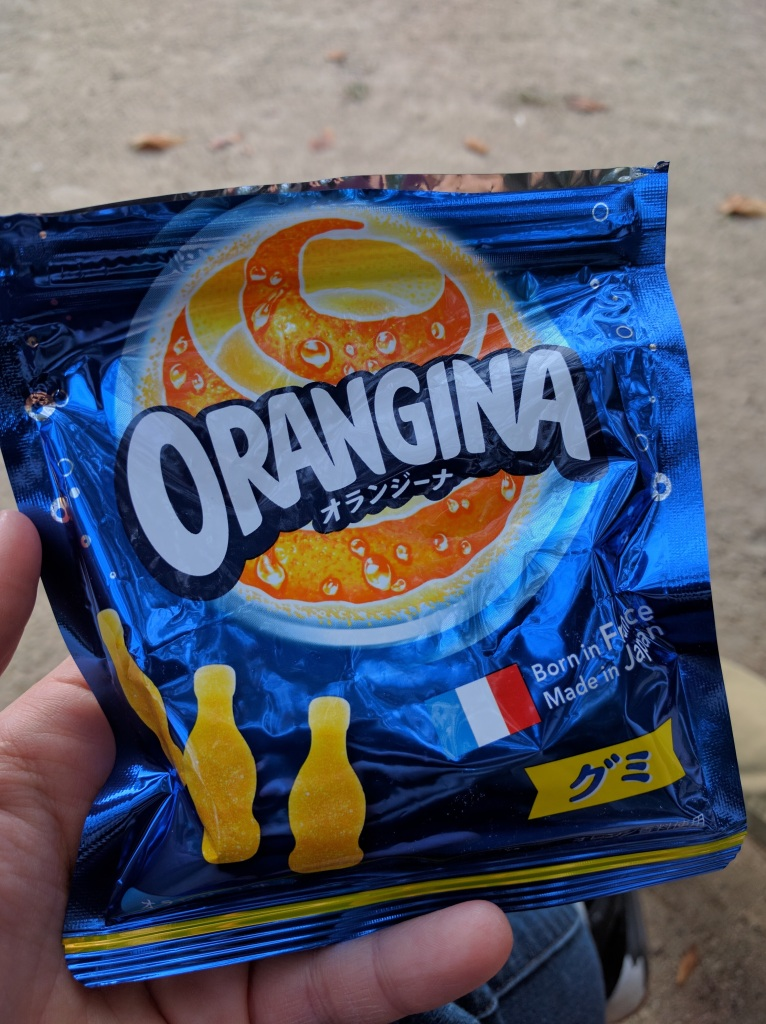 So excited for the Orangina gummies! They did not disappoint.